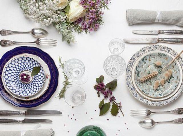 l 39 actu du jour acheter ou louer de la vaisselle vintage elle d coration mariage wedding. Black Bedroom Furniture Sets. Home Design Ideas