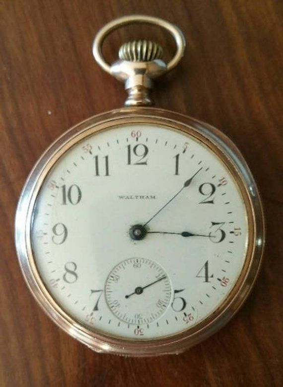 3b1c04018 American Waltham Pocket Watch Model 1894 Circa 1903 -1904 / 17 jewel  movement