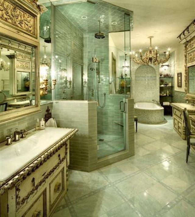 luxury interiors - interior design Decoración casa Pinterest - baos lujosos