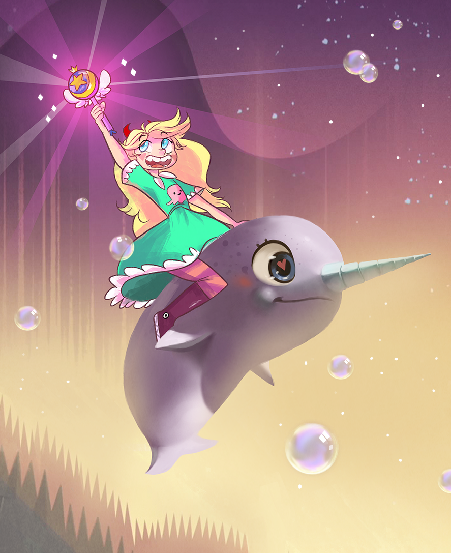 I just finished watching Star vs.The Forces of Evil. It was a really fun show and I can't wait to see more.