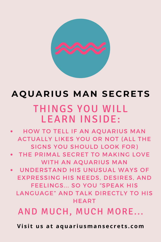 Traits of aquarius men
