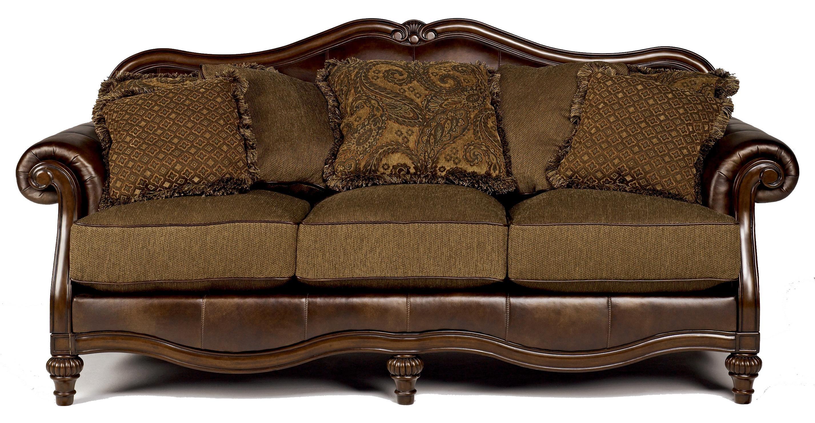 Claremore Antique Sofa By Signature Design Ashley