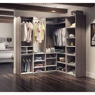 Genial Shop For Cielo By Bestar Classic Corner Walk In Closet. Get Free Shipping  At Overstock.com   Your Online Home Improvement Outlet Store!