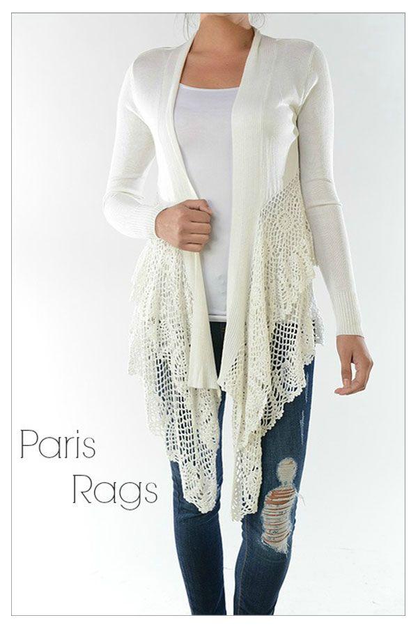 Paris Rags - love the sweater!