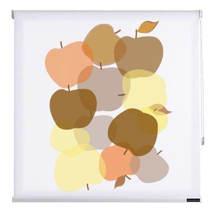Estores cocina fruits de cortinadecor color estampado - Estores de colores ...