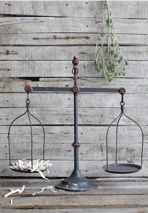 Iron Scale, Decorative Iron Scale, Vintage Inspired Scale   Staple ...