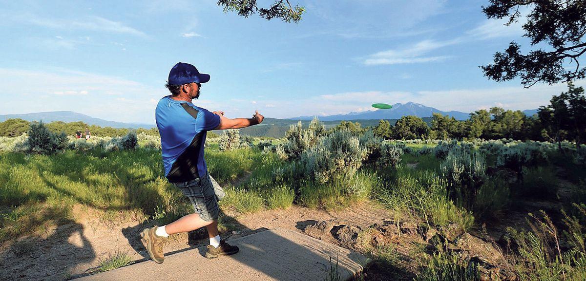 Disc Golf Colorado Mountain College Spring Gulch