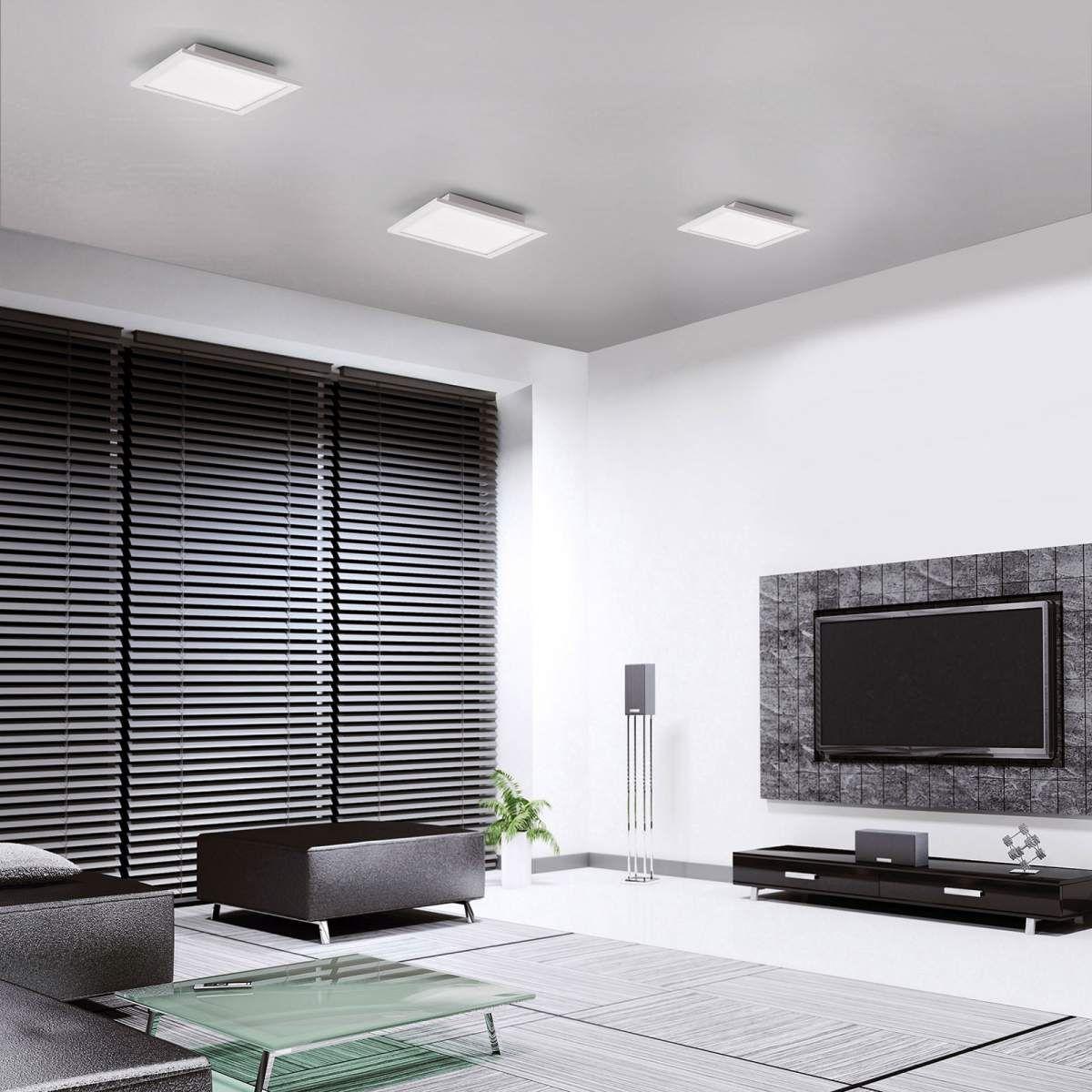 Moderne Smart Home Deckenleuchten Flat Von Leuchten Direkt Weiss Led Deckenleuchte Led Und Intelligentes Haus