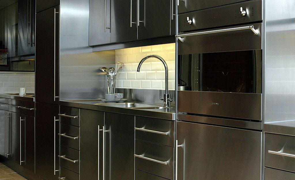 Kitchen Nice Stainless Steel Cabinets And Drawers Also Stainless Steel Kitchen Pantry Cabinet From The Popularity Of The Kind Of Stainless Steel Kitchen Cabine