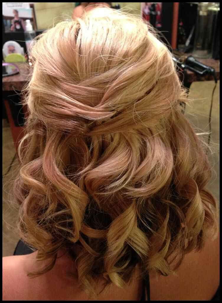 Nice 8 Hochzeitsfrisur Ideen Fur Mittellang Haar Fur Haar
