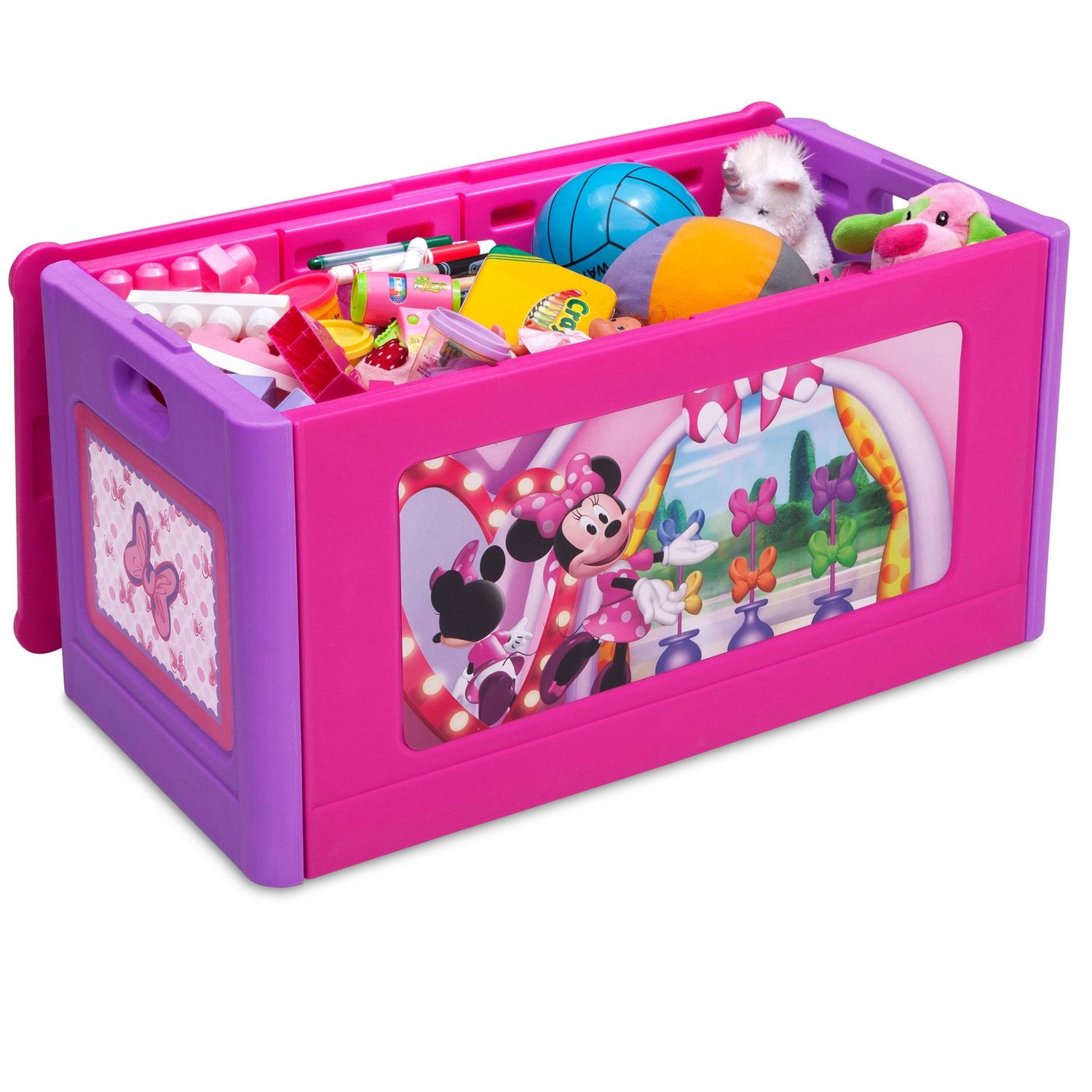 Pleasant Disneys Minnie Mouse Store And Organize Toy Box By Delta Pdpeps Interior Chair Design Pdpepsorg