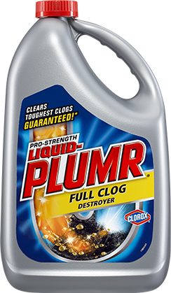 Liquid Plumr Full Clog Destroyer For Clogged Sinks Liquid Plumber