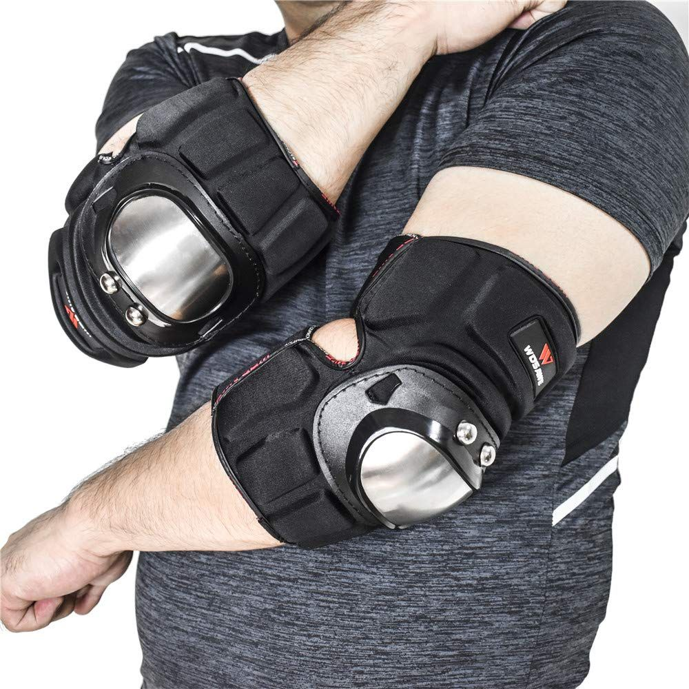 Adult Sports Knee Elbow Wrist Support Protection Durable Safety Protective Gear Pads Set for Unisex Adult Skateboard Cycling Roller Skating Extreme Sports Protector