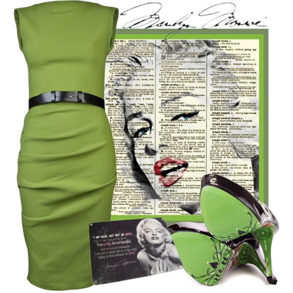 Marilyn Monroe, created by smylin on Polyvore