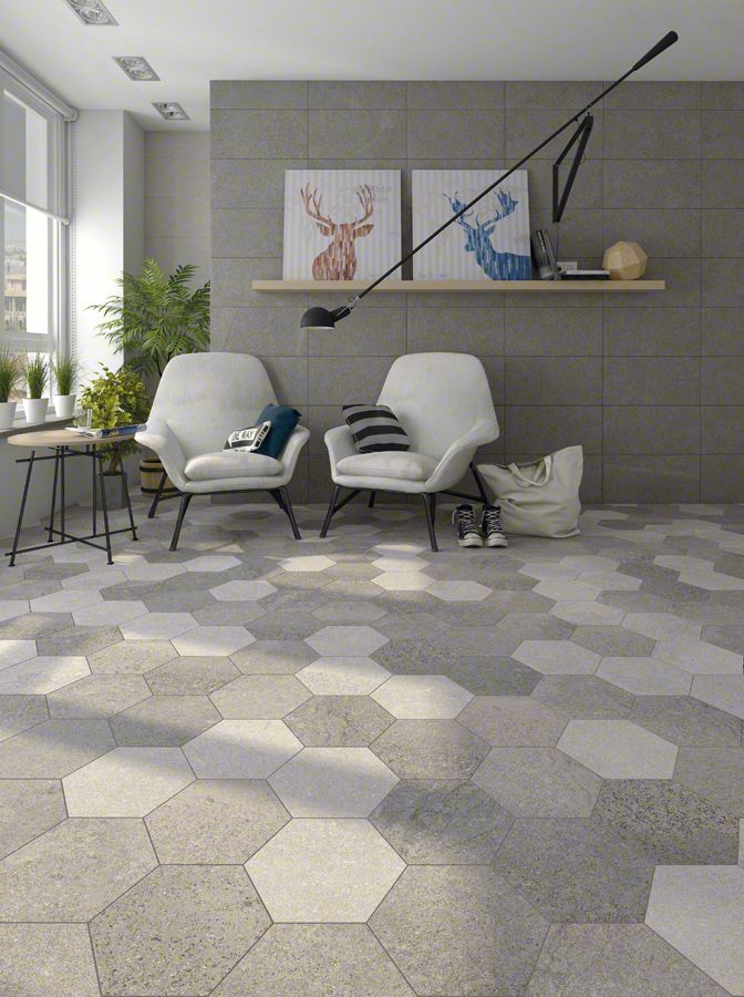 Sal n hall inspiration home ideas neutral tones porcelanico aston flooring vives - Vives azulejos y gres ...