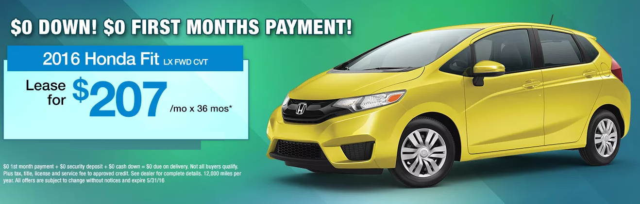 Russ Darrow Honda >> At Russ Darrow Honda Lease The All New Fit For 0 Down And