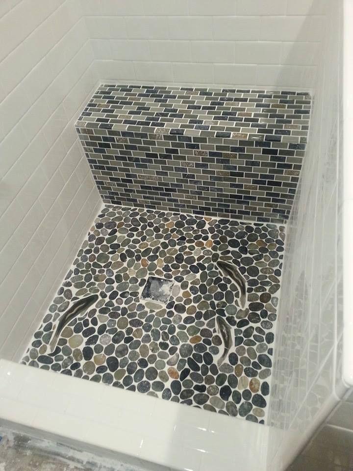 Home Depot Pebble Tile Tile Design Ideas