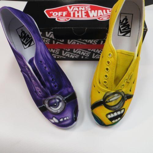 zapatillas vans minions