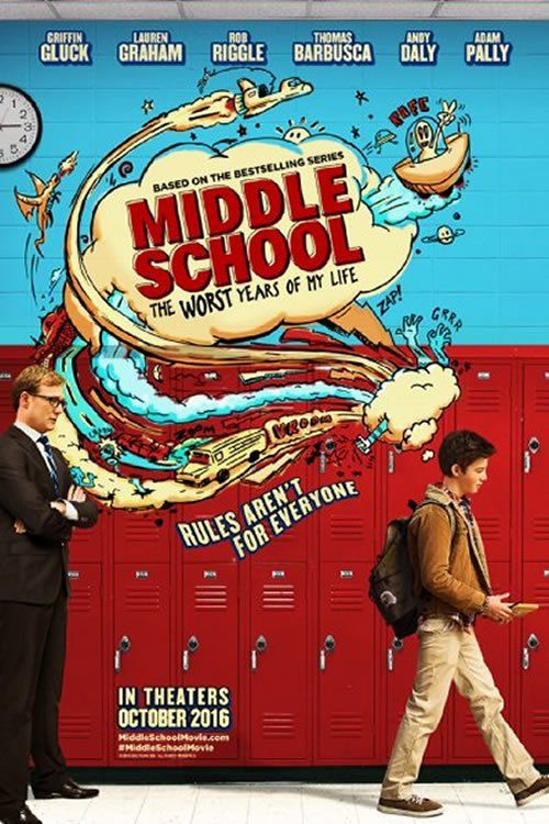 Watch Middle School The Worst Years Of My Life Online For Free Cinerill Middle School Movie My Life Movie Middle School