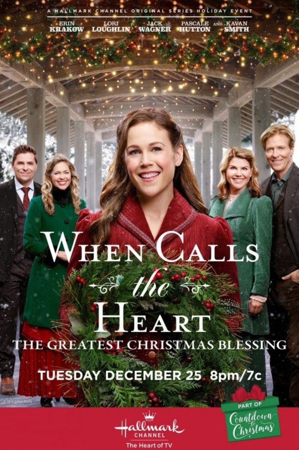 Watch When Calls The Heart Christmas Special 2019 4. When Calls the Heart The Greatest Christmas Blessing (2018) Set