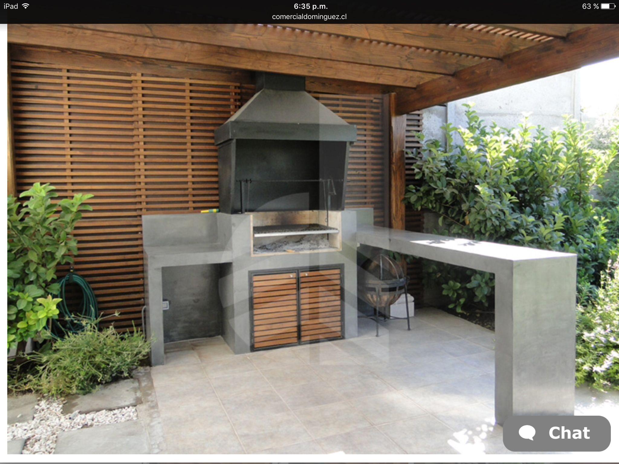 Quincho terrazas y quinchos pinterest churrasqueira - El porche de octaviano ...
