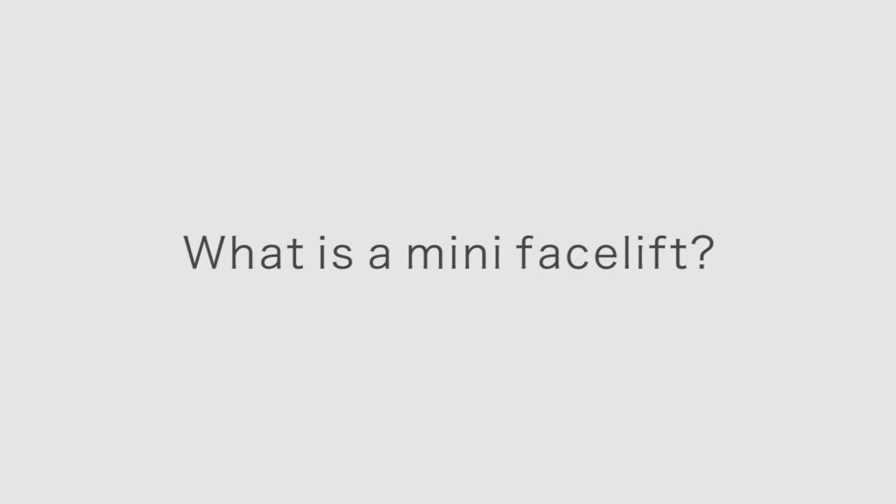 Dr Brahme What Is A Mini Facelift Video La Jolla Cosmetic Surgery Centre Plastic Surgery Surgery Facelift