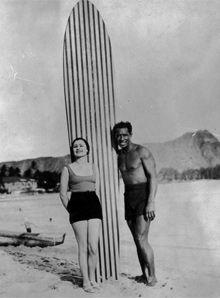 Pioneer longboard surfer Duke Kahanamoku What would Duke do?