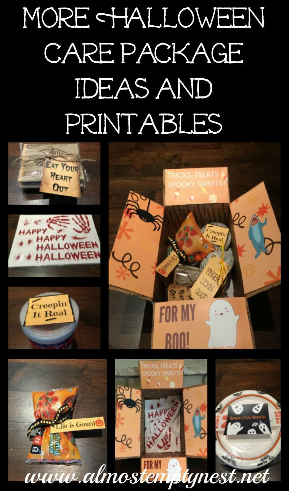 More Halloween Care Package Ideas and Printables #spookybasketideas More Halloween Care Package Ideas and Printables - Almost Empty Nest #spookybasketideasforboyfriend More Halloween Care Package Ideas and Printables #spookybasketideas More Halloween Care Package Ideas and Printables - Almost Empty Nest #spookybasket