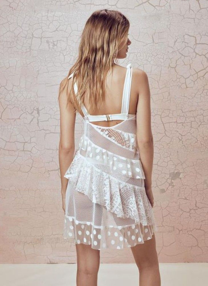 For Love and Lemons Coco Tank Cover Up – Bikini trends 2020