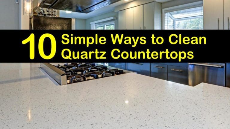 how to clean quartz countertops without streaks