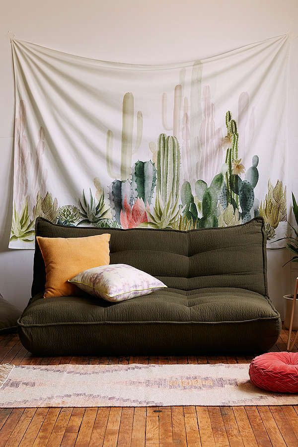 Shop Cactus Landscape Tapestry at Urban Outfitters