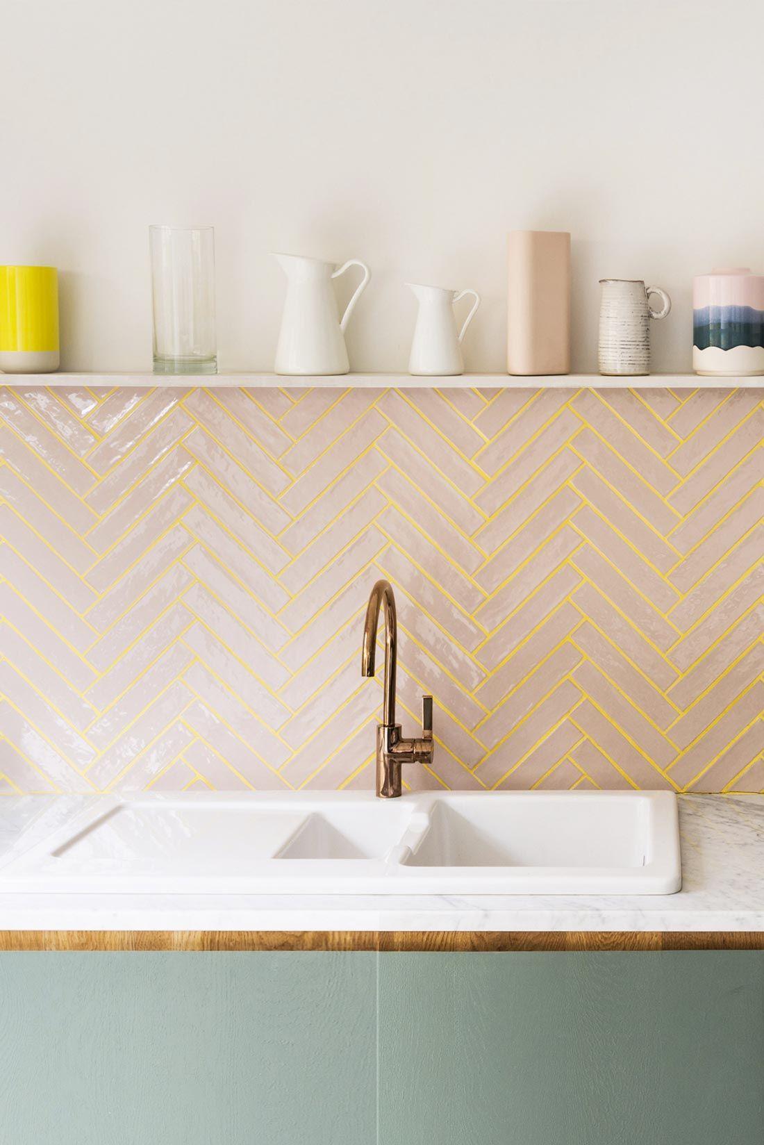 Herringbone Tiles - ROOMER Blog
