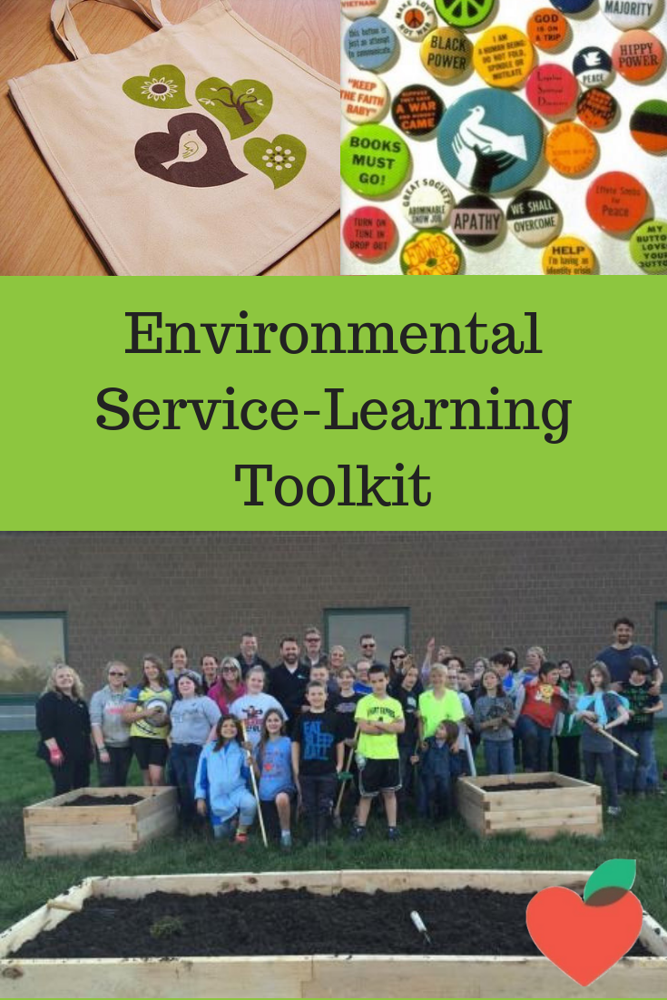 Service-learning project ideas and resources related to