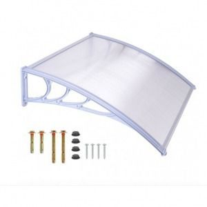 Plastic canopy 120×90 white- Plastic canopy 120 × 90 white P …