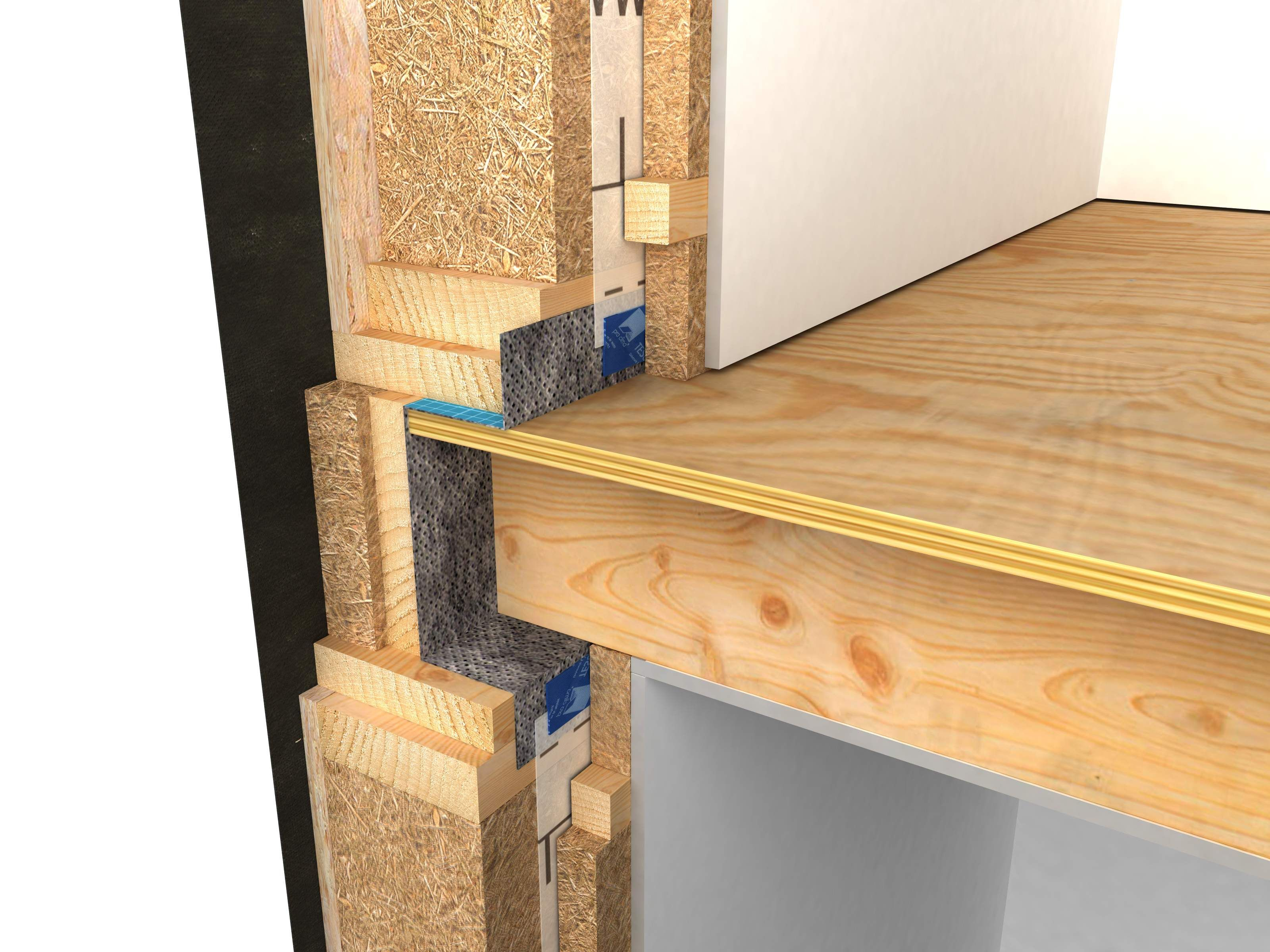 Rim Joist Detail Passive House Google Search Framing