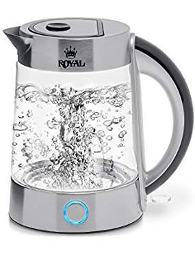 Royal Electric Kettle Bpa Free Fast Boiling Glass Tea Kettle 1 7l Cordless Stainless Steel Fi Glass Tea Kettle Electric Water Kettle Electric Tea Kettle
