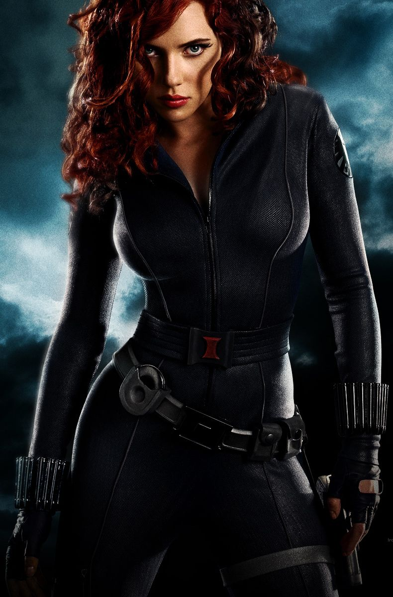 Not only was Scarlett Johansson super hot in the Avengers