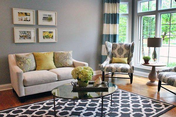 Living Room Decor With Blue Rug  Decoration Ideas  Pinterest Captivating Carpet Designs For Living Room Design Decoration