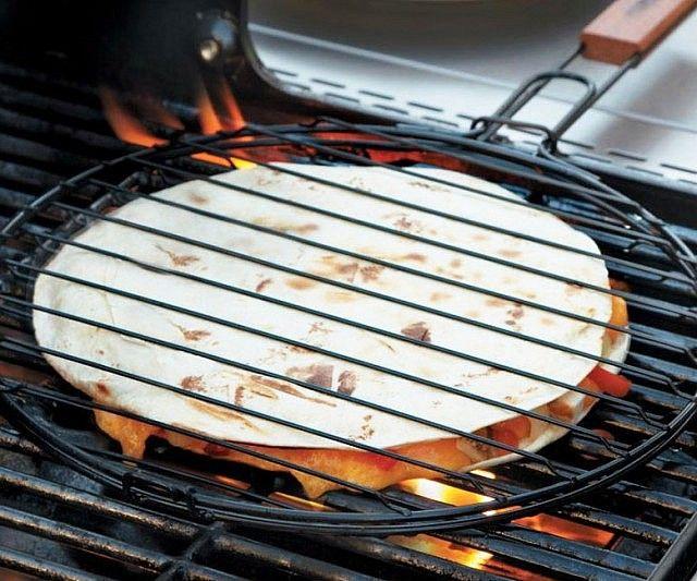 Quesadilla Grilling Basket   Backyard grilling, Grilling