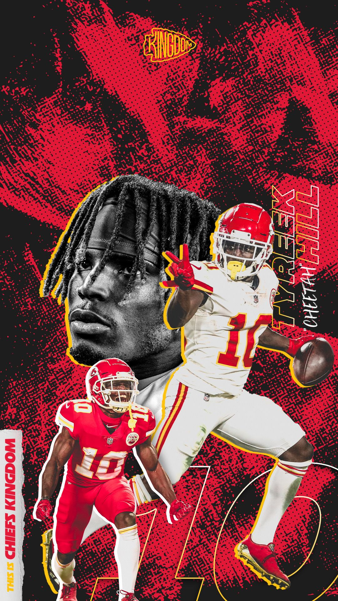Tyreek Hill Chiefs Chiefskingdom In 2020 Nfl Football Art Kansas City Chiefs Logo Kansas City Chiefs Football