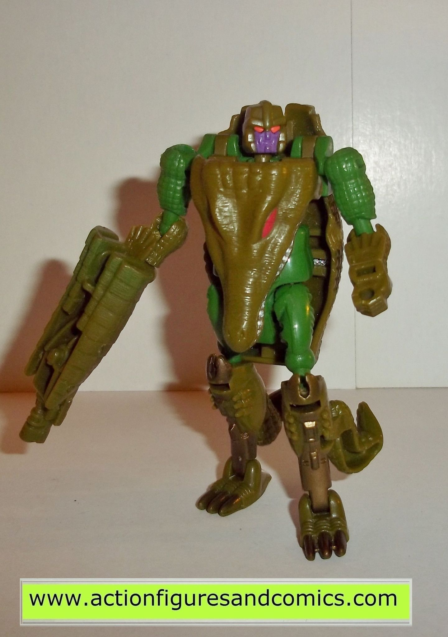 Transformers Beast Wars MEGATRON Complete Crocodile Figure