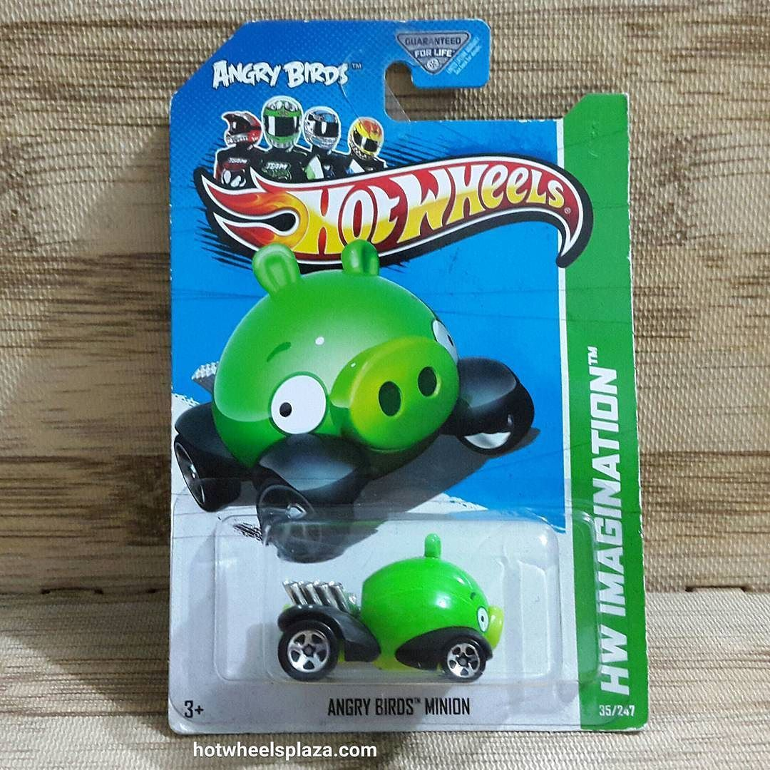 Hot Wheels Angry Birds Minion Pig Hw Imagination 35 247 Us Card Akta Truck Anggri Bird Mainan Anak Update Di