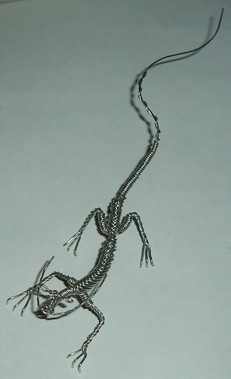 Twisted Wire Dragon by ~TheDeadSmellBad on deviantART | I should ...