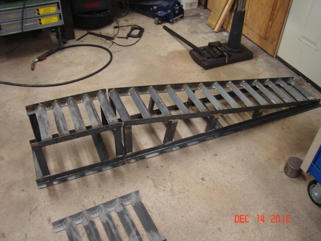 Diy car service ramps 11