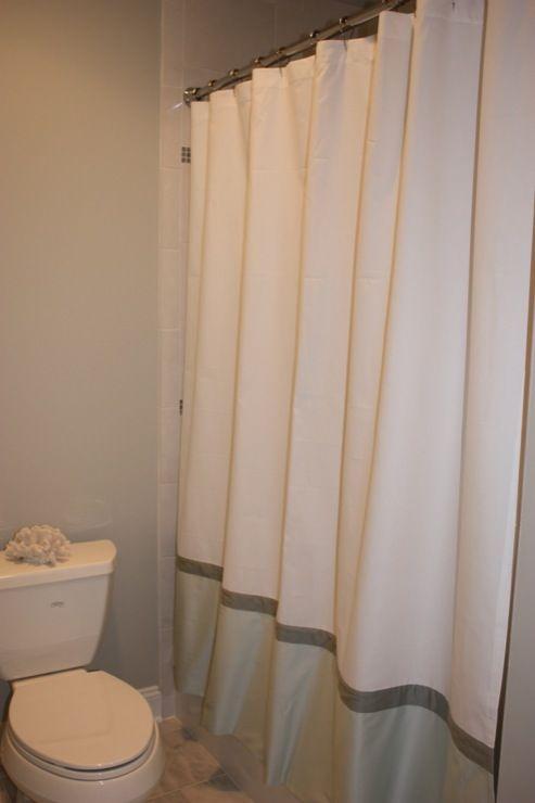 Restoration Hardware Shower Curtain Shower White Shower Curtain