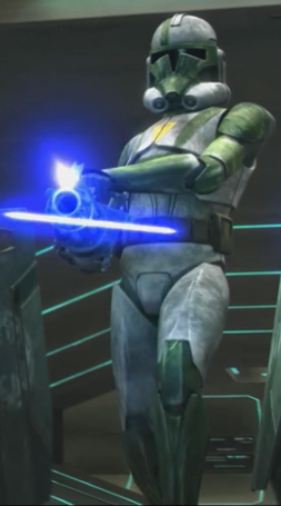 A clone from Doom's unit | movies and shows | Star wars clone wars