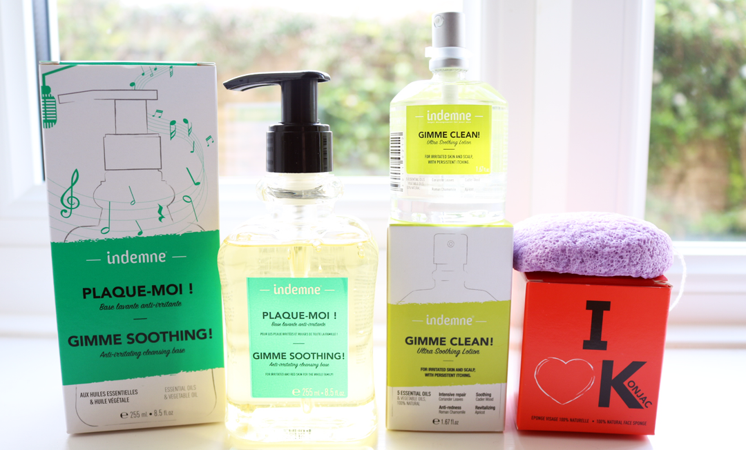 Green Beauty Trying Out Indemne Skincare for Sensitive