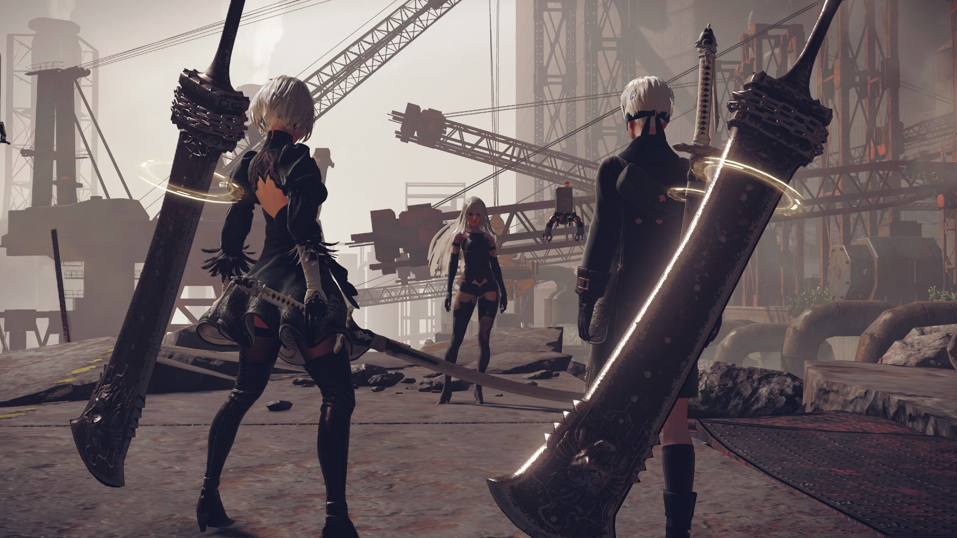 New Nier Automata Screenshots Introduce 9s And A2 Rpg Site