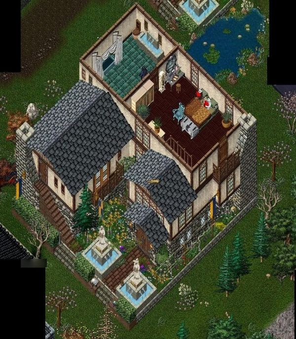 Pin by cats furniture on ultima online house design for House design online