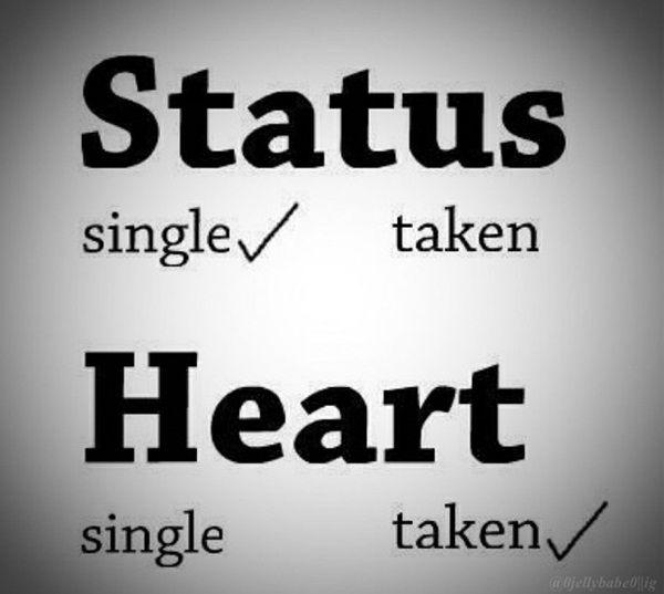 single or taken meaning)